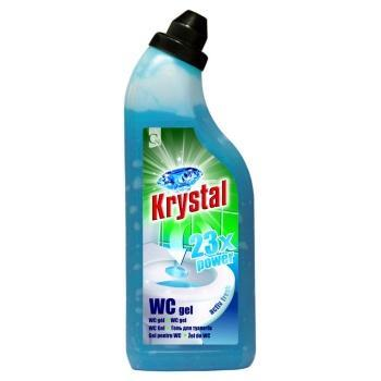 Krystal WC gel 750 ml zelený