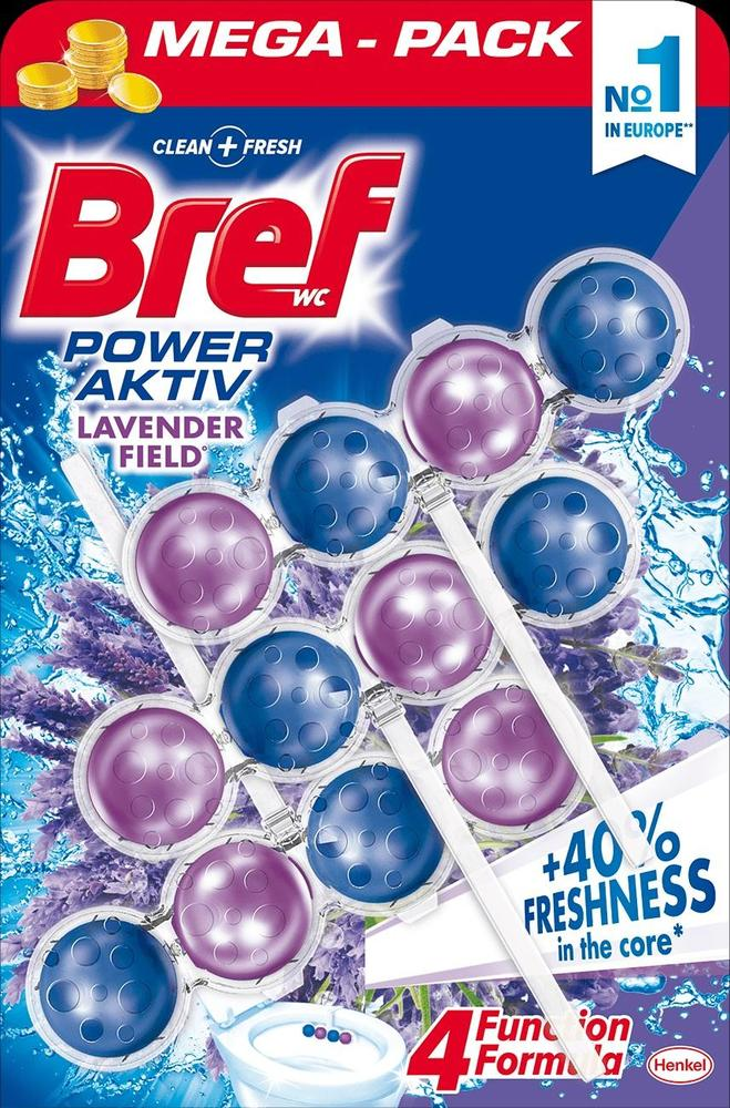 BREF WC power activ gel 3x50gr